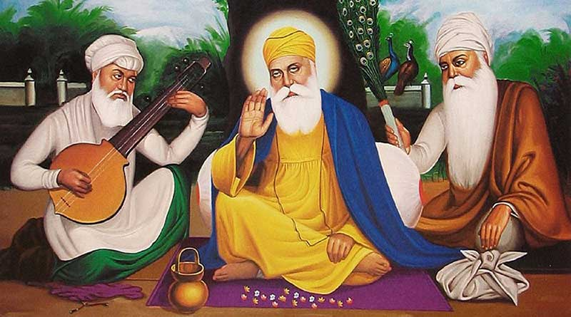 Illustration of Guru Nanak