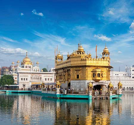 Harmandir Sahib  (Golden Temple) in Amritsar