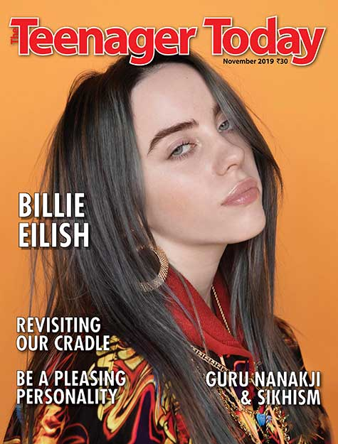 Cover of the November 2019 issue featuring singer Billie Eilish