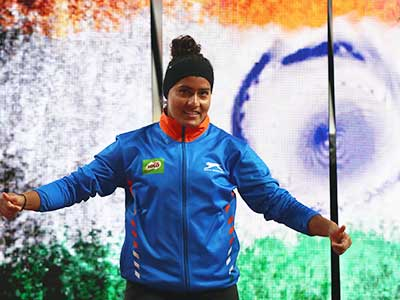 Annu Rani won gold at the National Open Athletics Championships