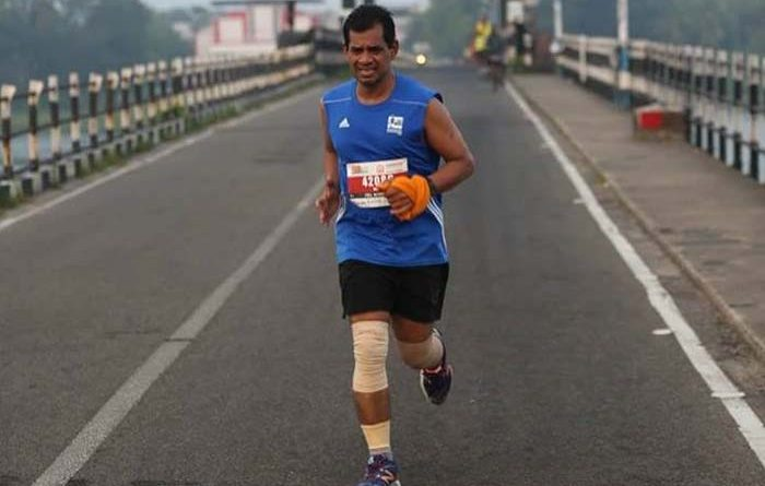 Denny Joseph running in a marathon