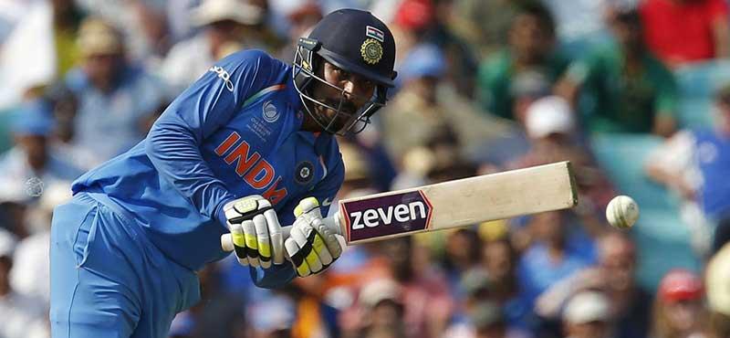 Ravindra Jadeja batting