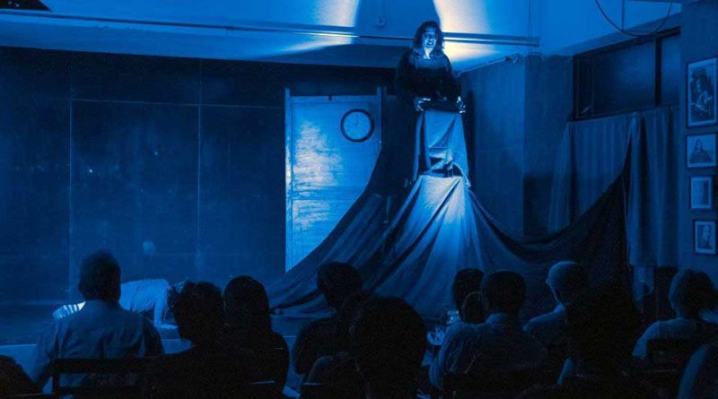 A still from the play Voices in the Dark at SAPP