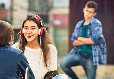 Emotional changes in teens