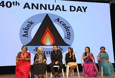 Guests of Honour at the 40th Annual Day of Ashok Academy