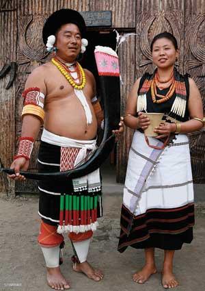 Angami tribe