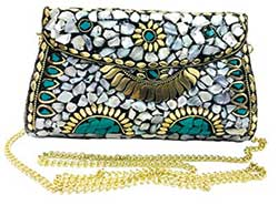 Clutch with Indian style work