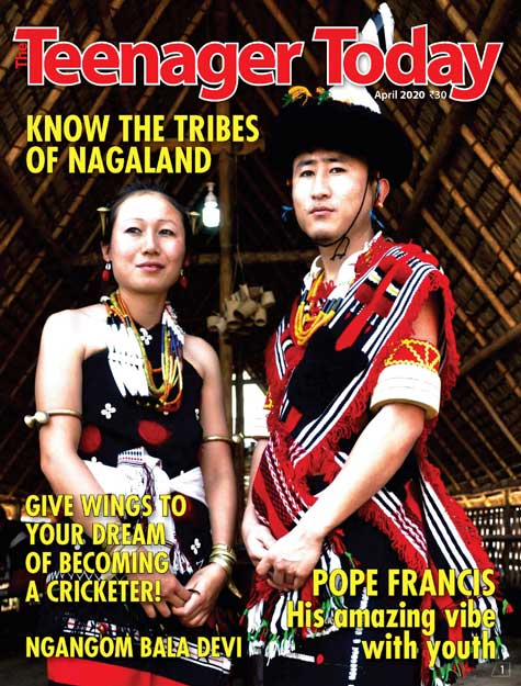Cover of the April 2020 issue
