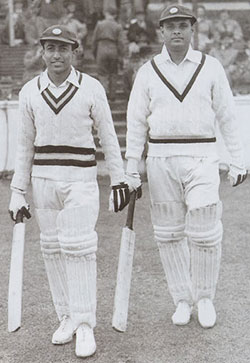 Chandu Sarwate and Shute Banerjee at  The Oval (May 1946)