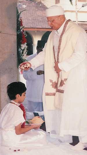 Parsi Navjote ceremony