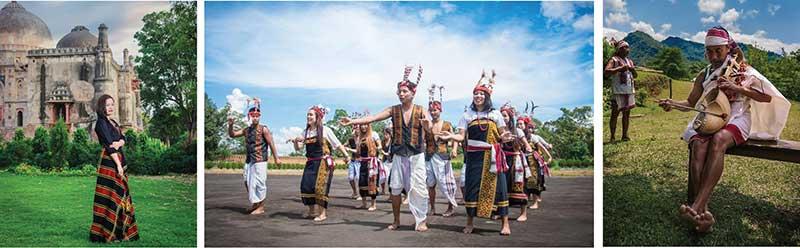Gangte, Aimol and Kharam tribes