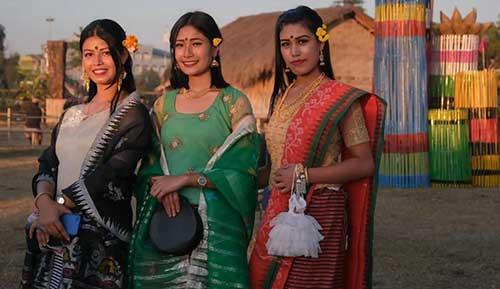 Manipuri women