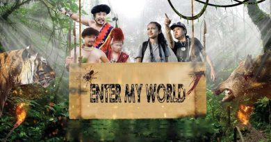 Screenshot from the musical film Enter My World