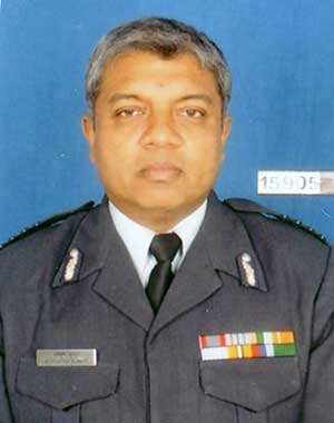 Gp Capt Achchyut Kumar, the author, in uniform