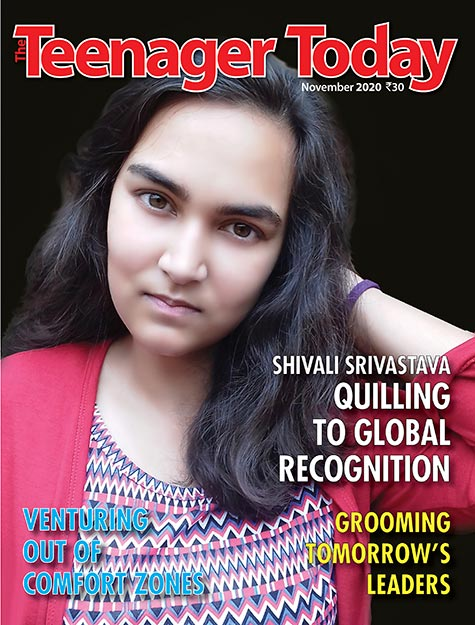 Cover of the November 2020 issue of The Teenager Today
