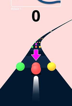 Color Road game screenshot