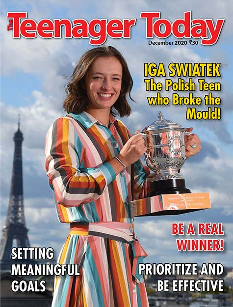 Cover of the December 2020 issue of The Teenager Today