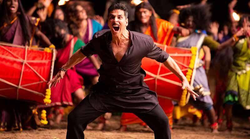 Akshay Kumar in a scene from Laxmii