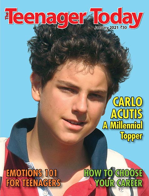 Cover of the January 2021 issue of The Teenager Today