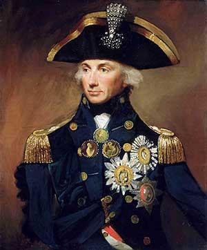 Portrait of Admiral Nelson