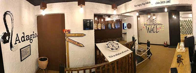 Adagio studio in Bandra, Mumbai
