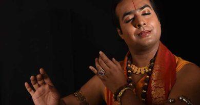 Nilesh Singha, top exponent of Bharatanatyam