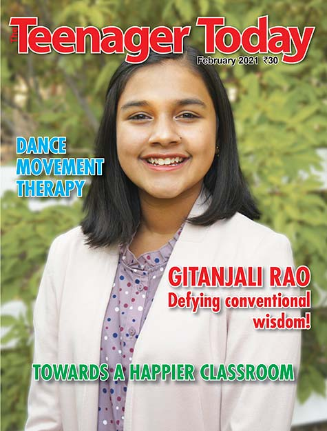 Cover of the February 2021 issue of The Teenager Today