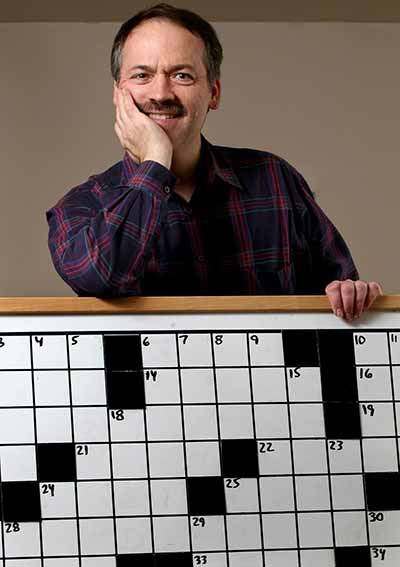 Will Shortz, New York Times crossword puzzle editor and world's only Enigmatology degree-holder
