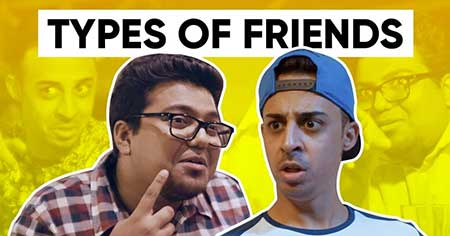 Jordindian with one of their videos - Types of Friends
