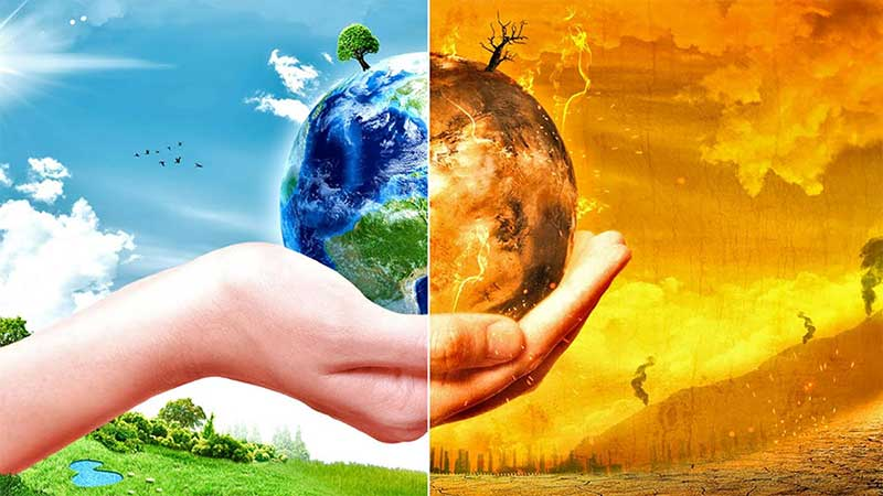Mother Earth restored vs climate change