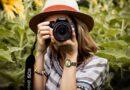 Woman photographer taking a photo