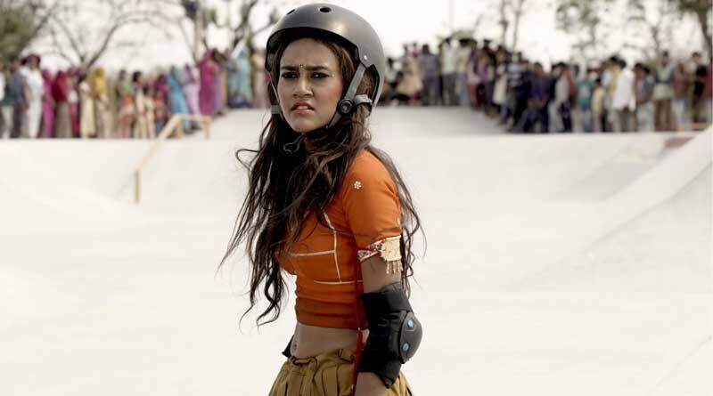 Rachel Saanchita Gupta in a scene from Skater Girl