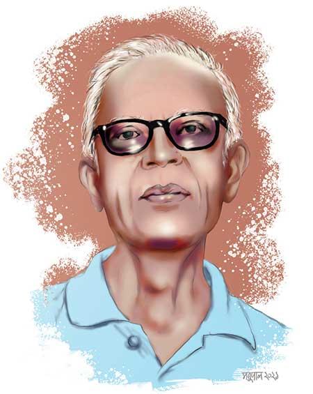 Illustration of Stan Swamy