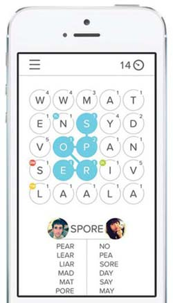 Hast word game app