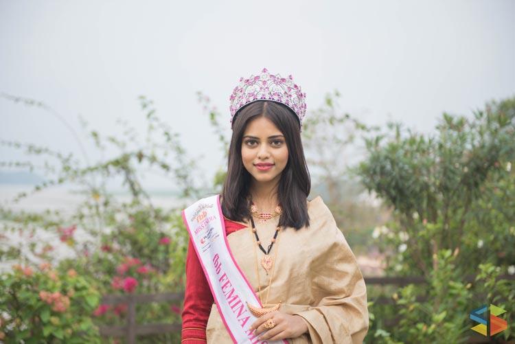 Priyadarshini Chatterjee is Femina Miss India World 2016