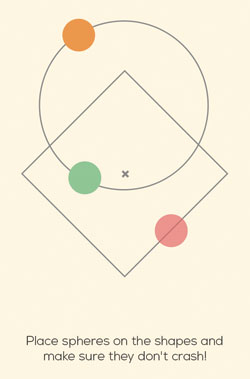 Hyspherical 2 game app screenshot