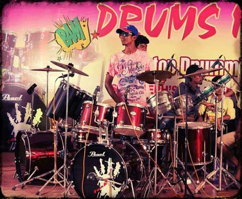 Drummer Isaac
