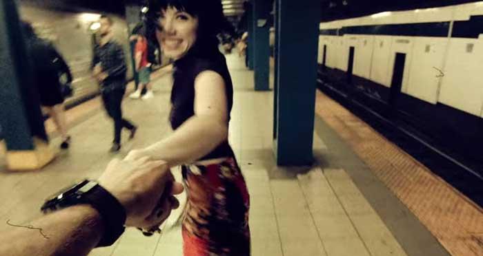 Carly Rae Jepsen's Run Away With Me video screenshot