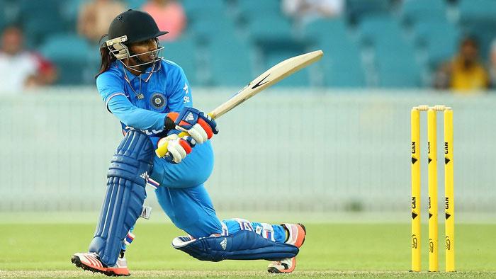 Mithali Raj batting