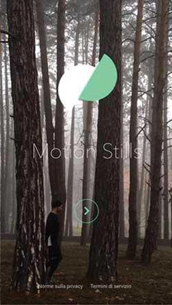 Motion Stills App