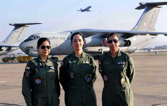 Female pilots in the Indian Air Force