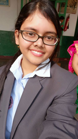 Sneha P. Kashyap of Holy Child School, Guwahati, was the Class 12 CBSE 2018 topper