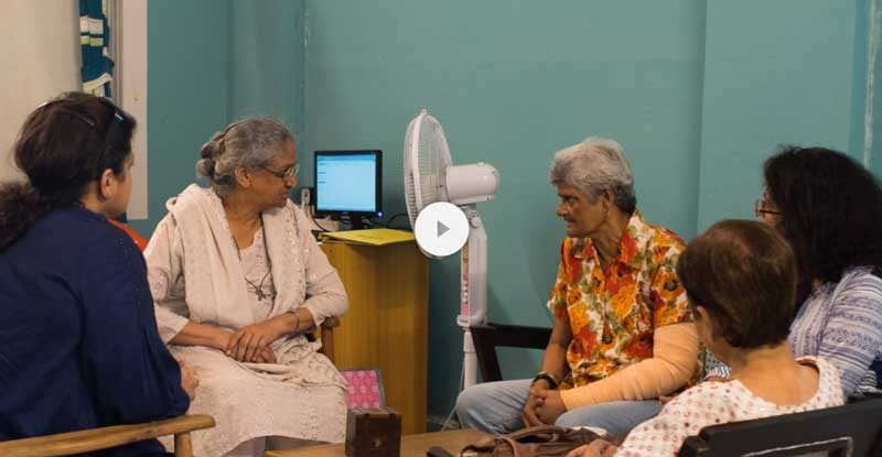Romila Palliative Care Centre patient with counsellors