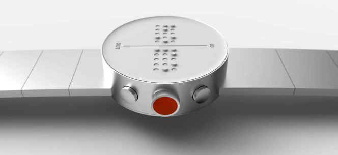 The Dot smartwatch for the visually impaired