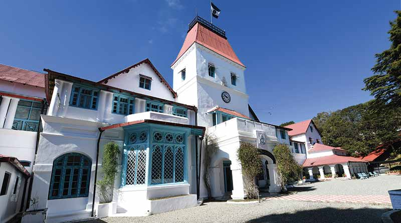 All Saints College, Nainital, college building
