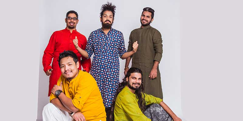 Band members of Kabir Cafe