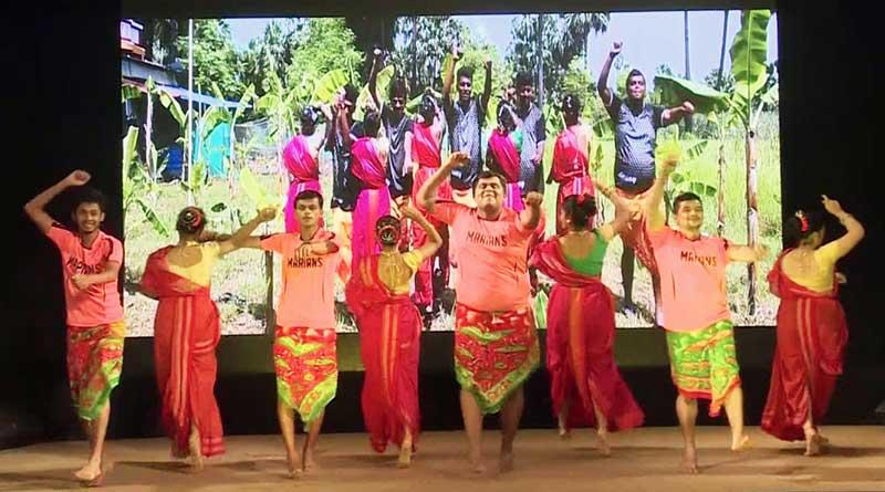 Dancers performing an East Indian Koli Dance