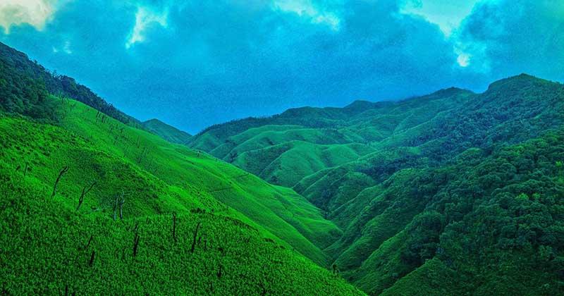 Dzukou Valley in Manipur