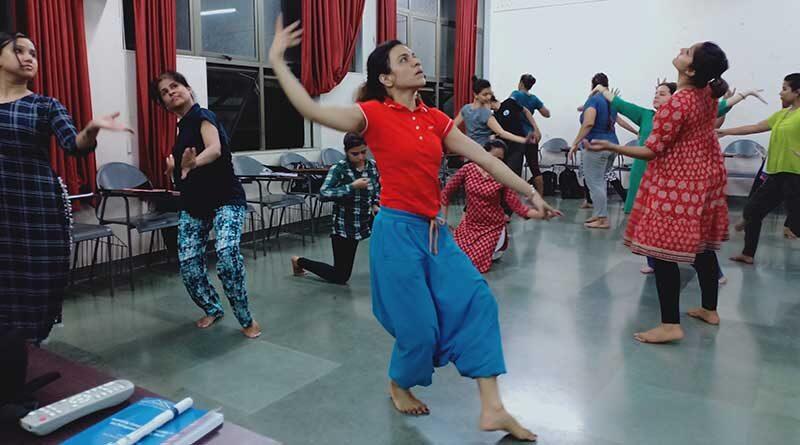Dance movement therapy participants