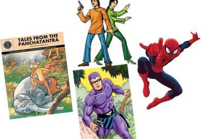 Comics inspire teenagers, too!